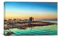 Portencross, Canvas Print