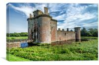 Caerlaverock Castle, Canvas Print