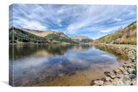 Still Loch Eck, Canvas Print