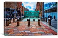 Buchanan Street Subway Entrance, Canvas Print