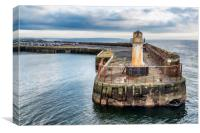 Ardrossan Lighthouse, Canvas Print