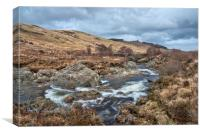 North Sannox Burn Pools, Canvas Print