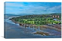 Dumbarton View, Canvas Print