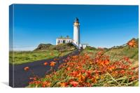 Turnberry Lighthouse, Canvas Print
