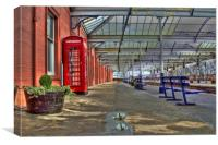 Kilmarnock Train Station, Canvas Print