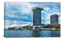 A'Dam Lookout Amsterdam, Canvas Print
