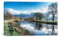 Caledonian Canal , Canvas Print