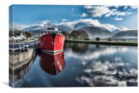 Caledonian Canal, Canvas Print