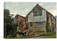 The Old Woodmill, Canvas Print