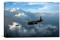 Vickers Wellingtons, Canvas Print