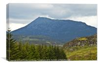 Moody Schiehallion, Canvas Print