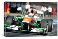 Paul di Resta 2012 Spain - Catalunya, Canvas Print