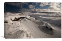 Fan Gyhirich winter landscape, Canvas Print