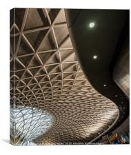 Kings Cross Station New Roof London, Canvas Print