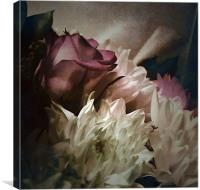 Say it with flowers, Canvas Print