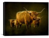 Highlanders, Canvas Print