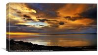 Super Sunrise, Canvas Print