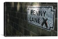 Penny Lane Ponderances, Canvas Print