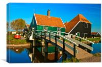 House at Zaanse Schans, Canvas Print