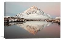 Buachaille Morning Sunrise, Canvas Print
