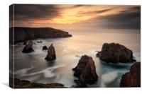 Mangersta Seastacks, Canvas Print