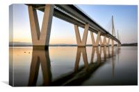 Queensferry Crossing Bridge, Canvas Print