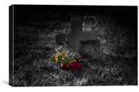 Lost Love2 - Gothic, Canvas Print