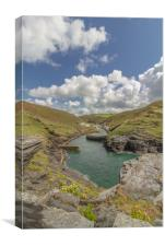 Boscastle Cornwall, Canvas Print