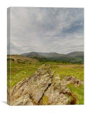 The Lake District Hills, Canvas Print