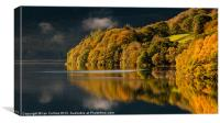 Elan Valley Autumn colours 2011, Canvas Print