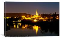 Ross-on-Wye Reflections, Canvas Print