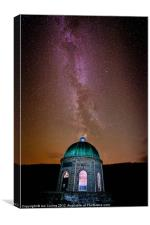 Elan Valley Milky Way, Canvas Print