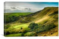 Mam Tor Peak District, Canvas Print