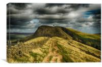 Path to Back Tor, Canvas Print