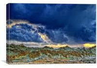 Squally Showers, Canvas Print