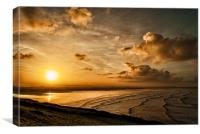 Saunton Sands, Canvas Print