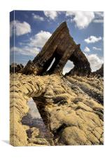 Blackchurch Rock, Canvas Print