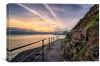 Ilfracombe Sunrise, Canvas Print
