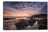 Lee Bay Sunrise, Canvas Print