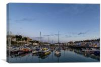 Ilfracombe Harbour, Canvas Print