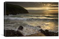 Putsborough Sands, Canvas Print