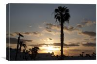 Lanzarote Sunrise, Canvas Print