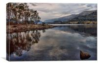 Reflections of Thirlmere, Canvas Print