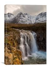 Fairy Pools Waterfall, Isle of Skye, Canvas Print