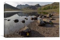 Langdale Pikes and Blea Tarn, Canvas Print