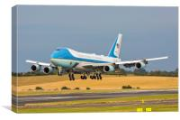 Air Force One, Canvas Print