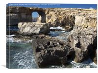 The Azure Window and Blue Hole, Canvas Print