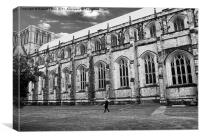 Winchester Cathedral Old Timer, Canvas Print