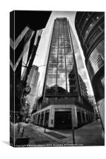The Exchange Tower - London - England, Canvas Print