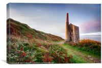 Wheal Prosper, Canvas Print